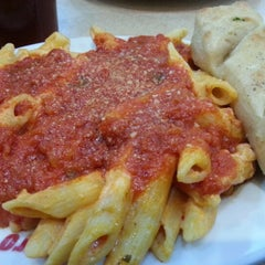 Photo taken at Sbarro by Marie V. on 11/23/2012