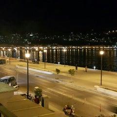 Photo taken at Aeolis Hotel by Duygu Ö. on 9/10/2015