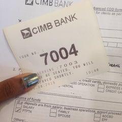 Photo taken at CIMB Bank by Sharvina on 8/26/2015