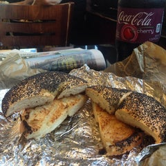 Photo taken at 14th Street Pizza Bagel Cafe by Mike C. on 7/7/2014