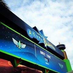 Photo taken at Buzz Lightyear Astro Blasters by Shannon O. on 3/4/2013
