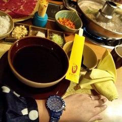 Photo taken at Yakoya by Arissa A. on 5/9/2014