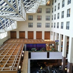 Photo taken at Hilton New Orleans Riverside by James B. on 1/6/2013