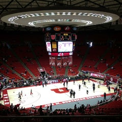 Photo taken at Jon M. Huntsman Center by Rico R. on 2/17/2013