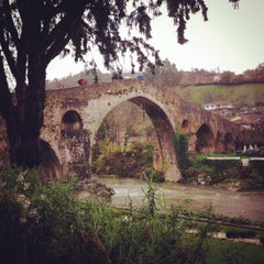 Photo taken at Cangas de Onís by _FSG _. on 12/22/2014