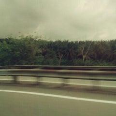 Photo taken at PLUS Highway Kulaijaya Toll by Ked on 6/2/2015