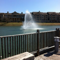 Photo taken at The Park at Josey Ranch Lake by Joe S. on 2/28/2013