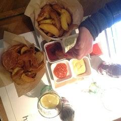 Photo taken at Ham Holy Burger by MANU D. on 12/21/2012