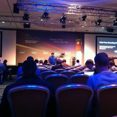 Photo taken at Hilton London Metropole Hotel by Neil J. on 10/4/2012