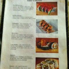Photo taken at Sato Japanese Restaurant by Jenny S. on 1/5/2013
