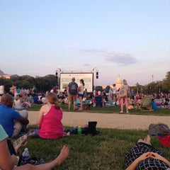 Photo taken at Screen on the Green by Adrienne Atkinson S. on 8/4/2014