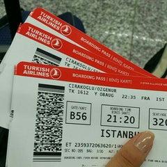 Photo taken at Terminal 1 by Özge Ç. on 8/8/2015