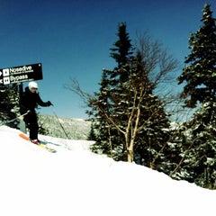 Photo taken at Stowe Mountain Resort by Sarah N. on 3/18/2013