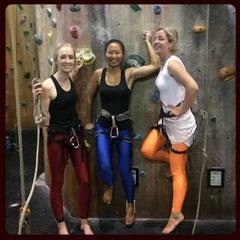 Photo taken at Hardrock Indoor Rock Climbing by Sarah Grace W. on 2/25/2015