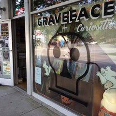 Photo taken at Graveface Records & Curiosities by JRB on 5/15/2015