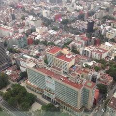 Photo taken at Torre Mayor by Karen R. on 6/30/2015