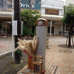 Photo taken at ももねこ様像 by 106 s. on 10/27/2012