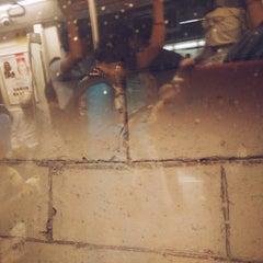Photo taken at Qutab Minar Metro Station by Sudhanshu S. on 8/10/2015