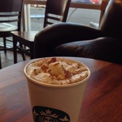 Photo taken at Starbucks by addin n. on 10/18/2013