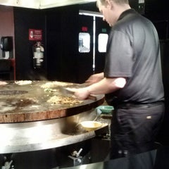 Photo taken at HuHot Mongolian Grill by D'Arcy E. on 3/12/2013