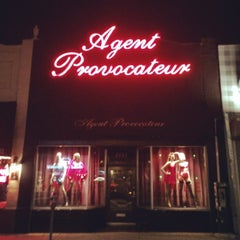 Photo taken at Agent Provocateur by William F. on 7/22/2014