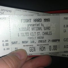 Photo taken at St. Charles Family Arena by Elizabeth R. on 11/10/2012