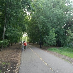 Photo taken at Grove-Cedar Bike Path by Erin E. on 8/22/2015