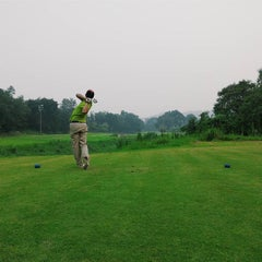 Photo taken at Kinrara Golf Club by Fawwaz L. on 10/4/2015