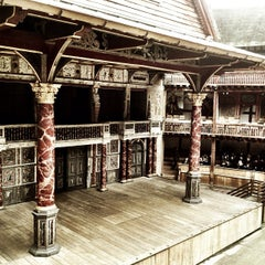 Photo taken at Shakespeare's Globe Theatre by Rachael M. on 1/12/2013
