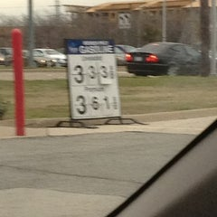 Photo taken at Sam's Club Gas by Larry B. on 2/11/2013