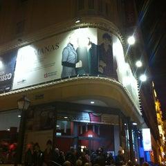 Photo taken at Teatro Maravillas by Kala I. on 3/10/2013