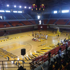 Photo taken at UST Quadricentennial Pavilion by Mariss C. on 8/14/2015