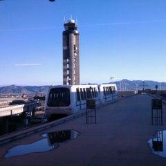 Photo taken at Las Vegas Airport Tram by Robert E. on 12/15/2012