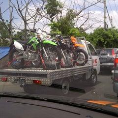 Photo taken at Jalan Mahendradata by Udik M. on 12/3/2012