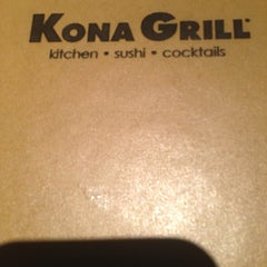Photo taken at Kona Grill by Jawann W. on 2/15/2013