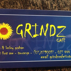 Photo taken at Grindz by Anne K. on 7/11/2014