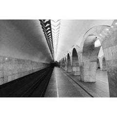 Photo taken at Метро Кузнецкий мост (metro Kuznetsky Most) by Alex K. on 6/15/2014