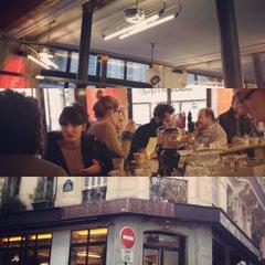 Photo taken at Café du Commerce by Benjamin P. on 10/28/2012