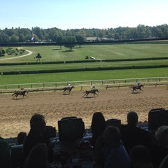 Photo taken at Saratoga Race Course by Jan S. on 8/25/2013