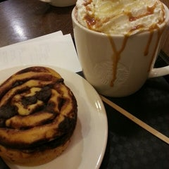 Photo taken at Starbucks by Emma 'Chocolate' D. on 10/9/2013