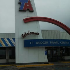 Photo taken at TravelCenters of America by Wil R. on 7/27/2013