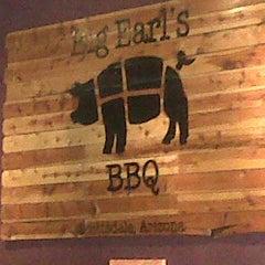 Photo taken at Big Earl's BBQ by Gemma J. on 4/6/2013