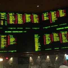 Photo taken at The Mirage Race & Sports Book by Mr. Bob D. on 9/14/2012