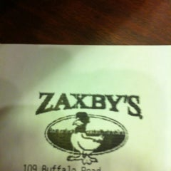 Photo taken at Zaxby's by Josh S. on 12/30/2012