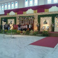 Photo taken at Masjid Nasional Al-Akbar by anas e. on 12/16/2012