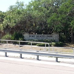 Photo taken at Fort DeSoto State Park by Dan M. on 4/2/2013