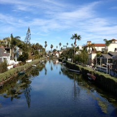 Photo taken at Venice Canals by Dress for the Date on 2/15/2013
