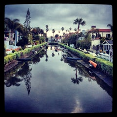 Photo taken at Venice Canals by Dress for the Date on 3/31/2013