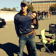 Photo taken at 'Hoos Tailgating by Will R. on 10/26/2013