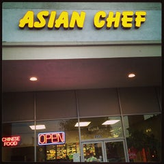 Photo taken at Asian Chef by Donald E. on 5/12/2013